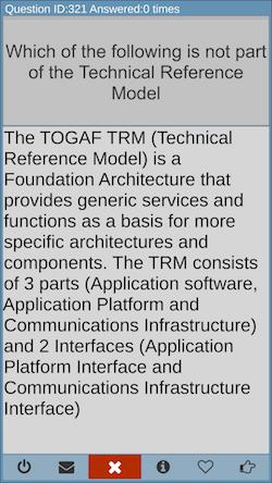TOGAF exam prep explanation